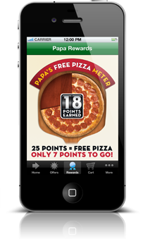 Earn Free Pizza Fast with Papa Rewards at Papajohns.com.