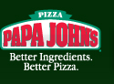 Papa John's. Better Ingredients. Better Pizza.